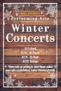 NPHS Winter Concerts 2017
